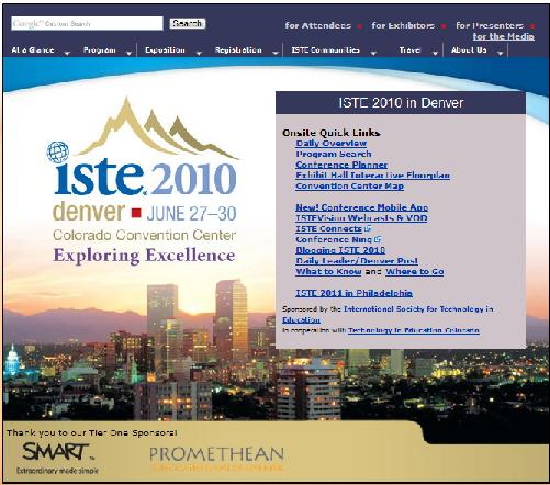 ISTE 2010 Denver