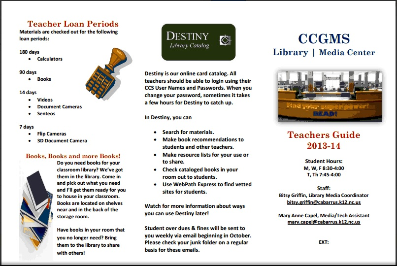 teacher brochure page 1