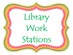 library work stations